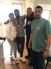 The Lewis Siblings! Candice, Ray, Rob & Reggie